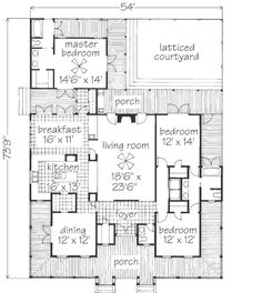 1000 images about dog trot homes on pinterest dog trot for Dog trot house plans southern living