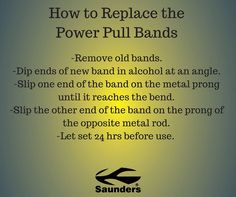 It's easy to replace your Power Pull bands. #powerpull http://ift.tt/2jryf6U