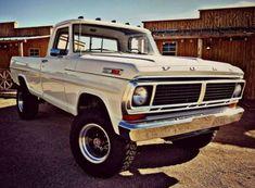 ford trucks old Old Pickup Trucks, Lifted Ford Trucks, Chevy Trucks, Classic Pickup Trucks, Ford Classic Cars, Chevy Classic, Cool Trucks, Big Trucks, Farm Trucks