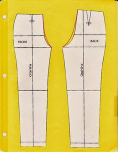 Cation Designs: Pants Pattern Alterations. Lots of good pics and descriptions of the different alterations you may need.