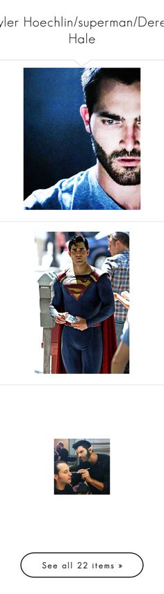 """""""Tyler Hoechlin/superman/Derek Hale"""" by j-j-fandoms ❤ liked on Polyvore featuring teen wolf, tyler hoechlin, teenwolf, home, home decor, derek hale, boys, guys, people and pictures"""