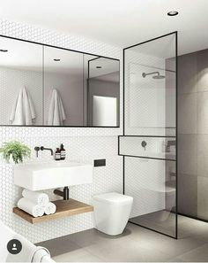 Modern Small Bathroom Design The Basic Components of Modern Bathroom Designs Modern Small Bathroom Design. Incorporating a modern bathroom design will give you a more … Bathroom Toilets, Modern Bathroom, Bathroom Renovation, Shower Room, Bathroom Decor, Interior, Bathroom Interior Design, Bathroom Shower, Bathroom Design