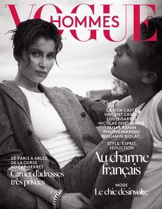 Le numéro automne-hiver 2015-2016 de Vogue Hommes avec Laetitia Casta