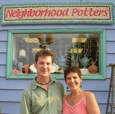 Neil Patterson/Sandi Peierantozzi Clay Studio, Ceramic Techniques, Pottery Classes, Earthenware Clay, Human Connection, Pottery Studio, Ceramic Artists, Business Design, Talk To Me