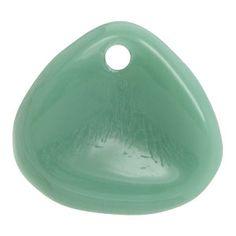 2.5x7.5mm Persian Turquoise Rose Petal Czech Glass Bead | Fusion Beads