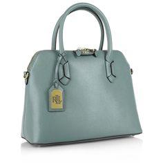 Ralph Lauren Dome Satchel Cameo Blue/Cocoa Premiumtaschen bei Fashionette