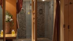 Ancient Cedars Spa Changing Room