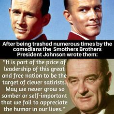 Low rating Smothers brothers This is presidential