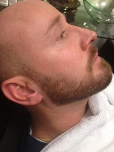 Barber shaves mens face photos | Short Boxed Beard.  Canids this for you stay still be calm and go to sleeeppp