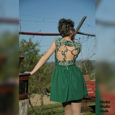 #green #dress #vestido #corto #elegant #new #handmade #sewing #sew #satin #lace #beads #motivs #nature #prom #sail #rental #modnistudiolinda #model #photoshot #design #colors #shine  Kratka zelena haljinica od satena i čipke sa perlicama.....preslatka je i veoma udobna,idealna za sve svečanosti. ☎060 09 29 993 Mara