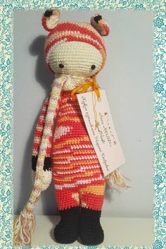 Fibi the Fox. Lalylala doll Amigurumi crochet. by DobryjMaster ☆
