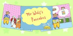 Mr Wolf's Pancakes Powerpoint - mr wolfs pancakes, powerpoint