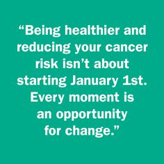 Make healthier resolutions: http://blog.aicr.org/2015/01/21/resolutions-slipping-away-reset-recharge-remain-positive/