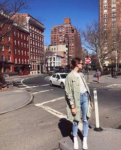 "969 Likes, 18 Comments - Valeria Lipovetsky (@valerialipovetsky) on Instagram: ""Feeling like a tourist in NY with my soul sister @miadyadyuk """