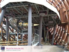 Expo 2015 Milano Blog: Malaysia pavilion... at Work !