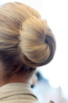 Perfect ballerina bun