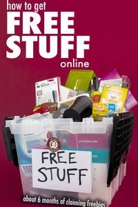 5 LEGIT ways to get Free Stuff Online From claiming samples online, writing to your favorite companies or even a subscription freebie company. There are tons of ways to get free stuff online! Free Samples By Mail, Free Stuff By Mail, Get Free Stuff, Free Baby Stuff, Free Makeup Samples Uk, Free Samples Canada, Free Stuff Canada, Free Mail, Free Baby Samples