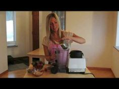 Video recipe! Strawberries with raw vegan chocolate whipped cream www.sweetlyraw.com