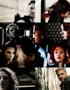 Black Widow • Hawkeye #Clintasha
