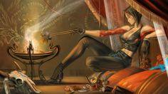 1920x1080 px Beautiful fantasy wallpaper by Walker London for : pocketfullofgrace.com