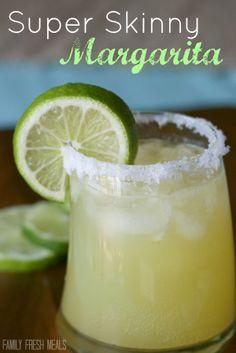 Super Skinny Margarita - FamilyFreshMeals.com