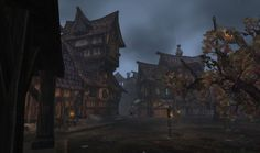 A Peek into Gilneas by LaughingWaters on deviantART