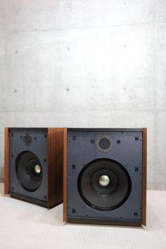 ALTEC SANTANA Wooden Speakers, Home Speakers, Built In Speakers, Stereo Speakers, Audio Design, Speaker Design, Altec Lansing, Electronics Companies, High End Audio