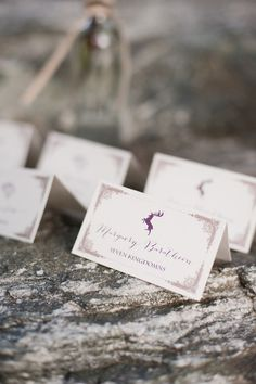Game of Thrones themed wedding escort cards | Candice Benjamin Photography | see more on: http://burnettsboards.com/2014/04/game-thrones-themed-wedding-2/