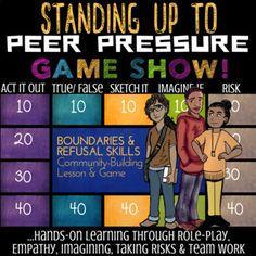 12 Peer Pressure Ideas Peer Pressure Peer Counseling Lessons