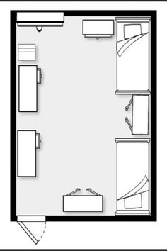 Room Layout how to create a dorm room layout | dorm room layouts, dorm room