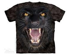 Aggressive Panther Big Cats Nature Shirt