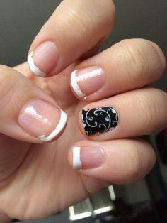 Jamberry nails. Nail art :)