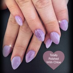 Fully sculpted acrylic nails