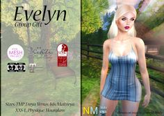 New Group Gift Evelyn Dress March 2017