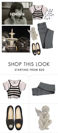 """Birth of my sleep and ghost of my conscience"" by hernameisgemini ❤ liked on Polyvore featuring UNIF and Stubbs & Wootton"