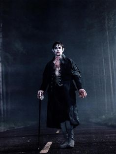 Johnny Depp as 'Barnabas Collins' in Tim Burton's Dark Shadows (2012)