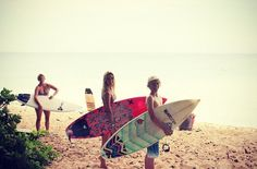 Surf day with friends