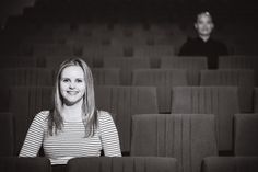 festive finds by Event Finds: Movie Theatre Engagement Session