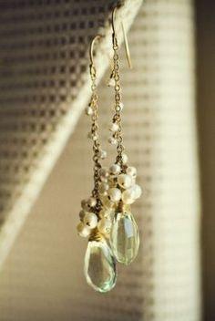 pretty vintage style earrings