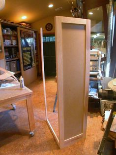 Pre-assemble as much as possible when painting casework.