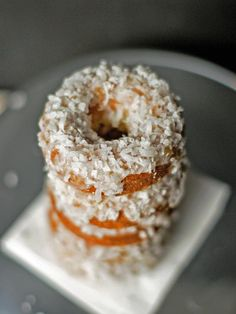 Piña Colada Baked Doughnuts Recipe : Holidays and Entertaining : Home & Garden Television