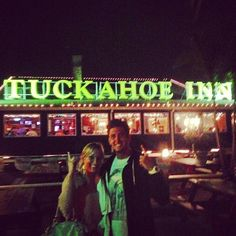 They are at the Tuck-A-Hoe Inn...lol