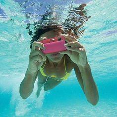 Underwater photo thanks to the #waterproof cybershot