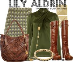 Inspired by Alyson Hannigan as Lily Aldrin on How I Met Your Mother. Adorable work outfit.