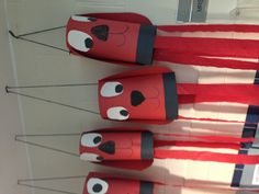 C is for Clifford-Clifford Windsock Craft