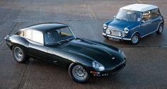 British Car Legends from the past :( #British #Racing #Jaguar #Mini