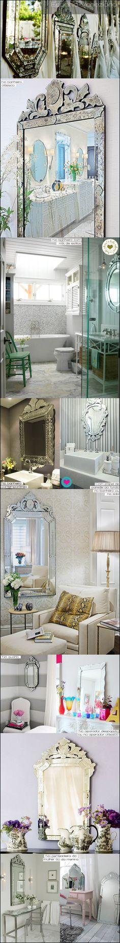 espelhos venezianos - mirror - buladaarquitetura