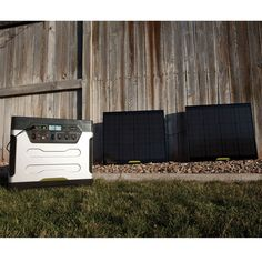 The Solar Power Generator - Hammacher Schlemmer