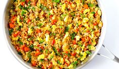 Fried Rice, Fries, Food And Drink, Ethnic Recipes, Red Peppers, Nasi Goreng, Stir Fry Rice