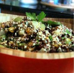 Quinoa cocnut fruity salad